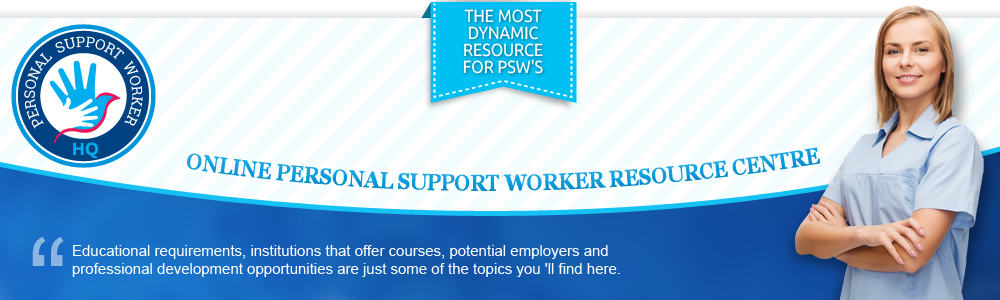 Personal Support Worker Headquaters: A Resource for PSW's in Ontario header image