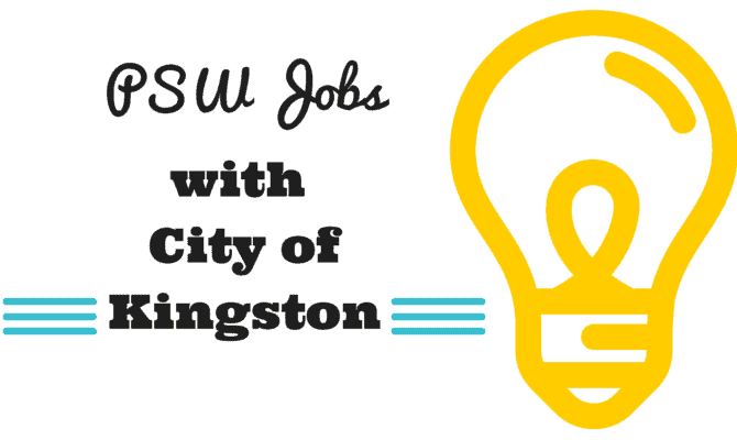 psw jobs with the city of kingston ontario